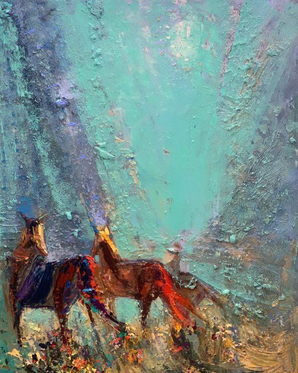 Riders by Kira Fercho